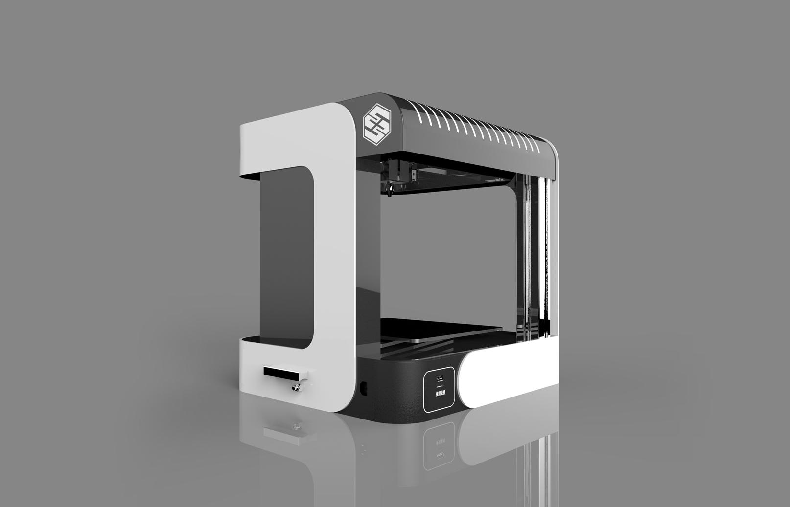 3d打印机,工业设计公司,工业设备外观设计,cad图纸