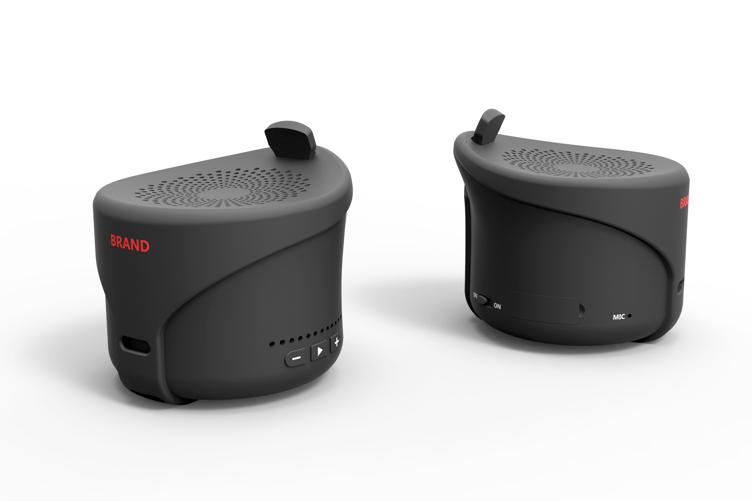 蓝牙音箱工业设计 户外音响外观设计 产品设计公司